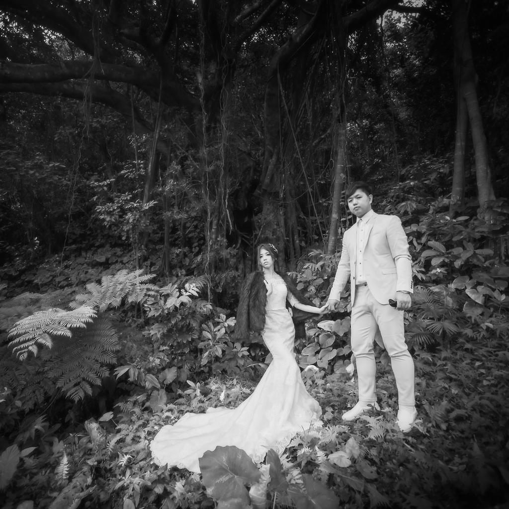蠻牛& 瓢蟲 蘭嶼 自助婚紗 側錄影片